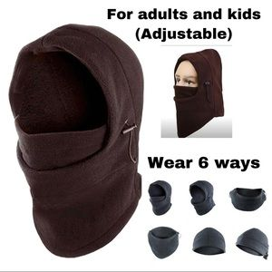 ✅ Coffee fave mask/ ski mask for adults and kids